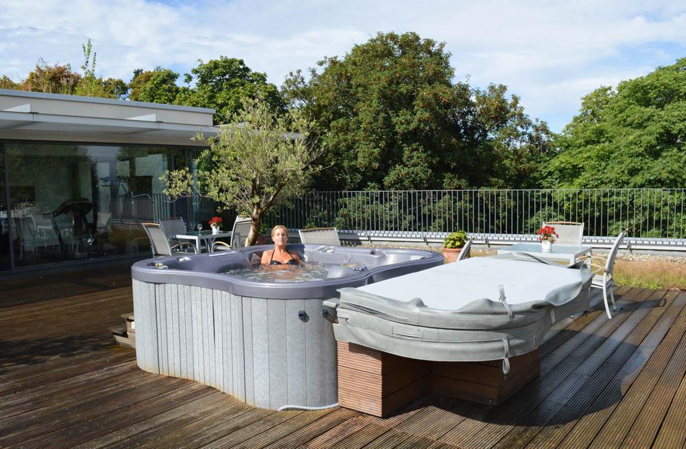 Een luxe vakantiehuis met jacuzzi