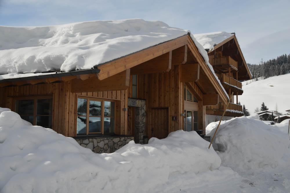 Luxe vakantiehuis wintersport