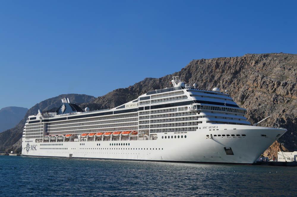 MSC Midden Oosten Cruise Oman, Dubai & Abu Dhabi
