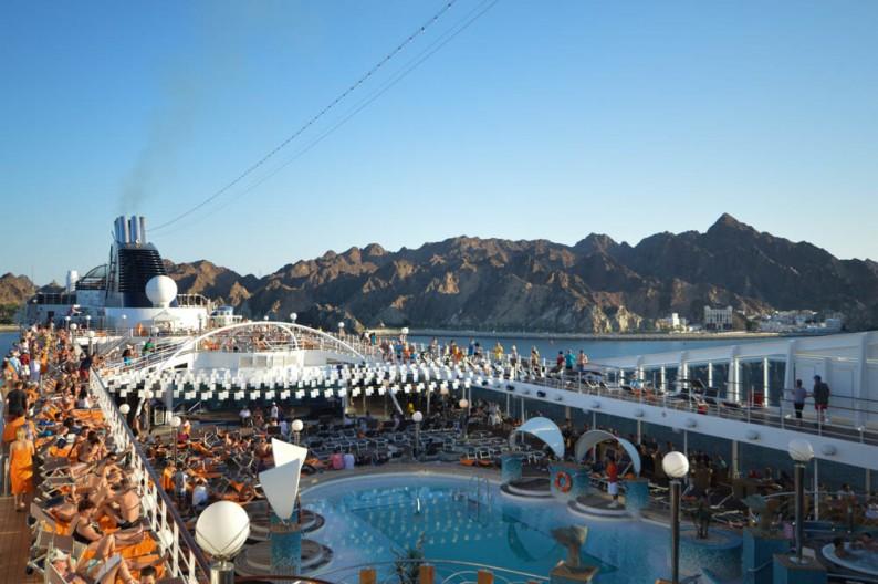Met MSC cruisen door Midden Oosten, Oman, Dubai & Abu Dhabi