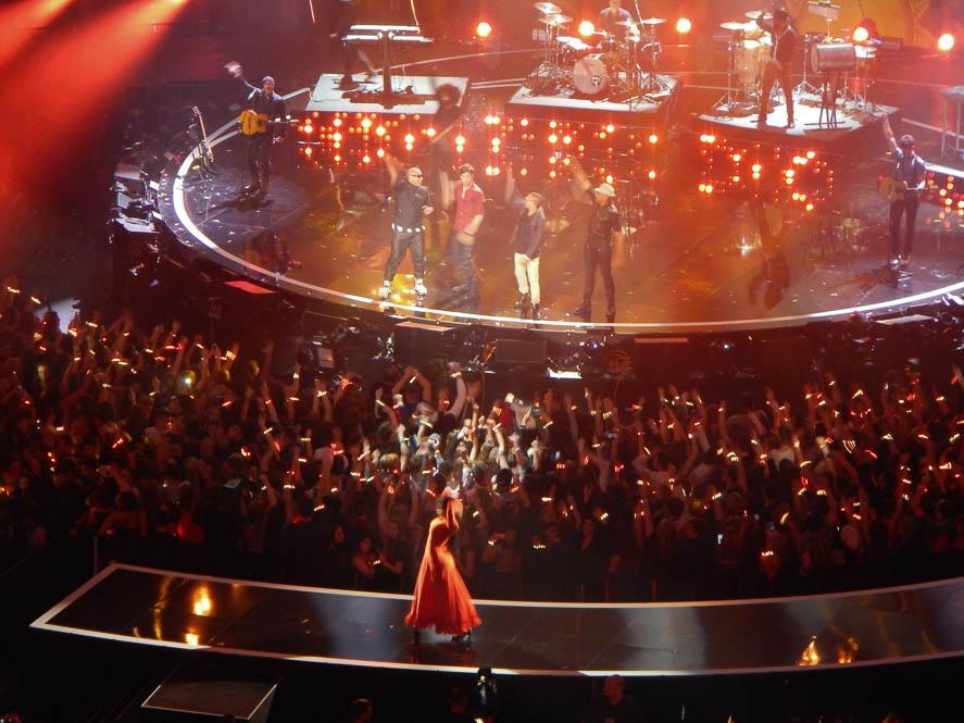 MTV Awards show @ SSE Hydro Glasgow