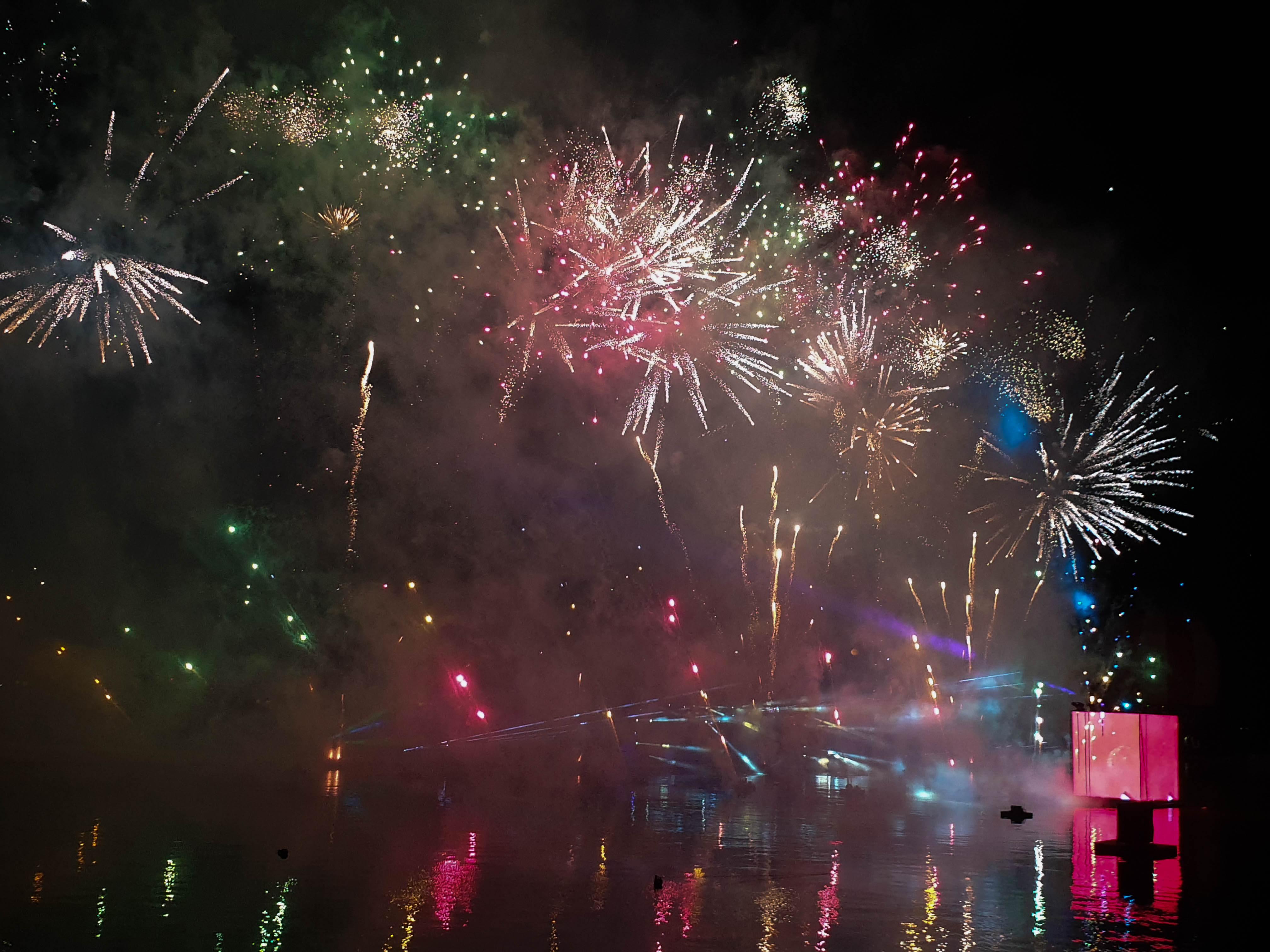 Magisch Vuurwerkfestival Disneyland Parijs november