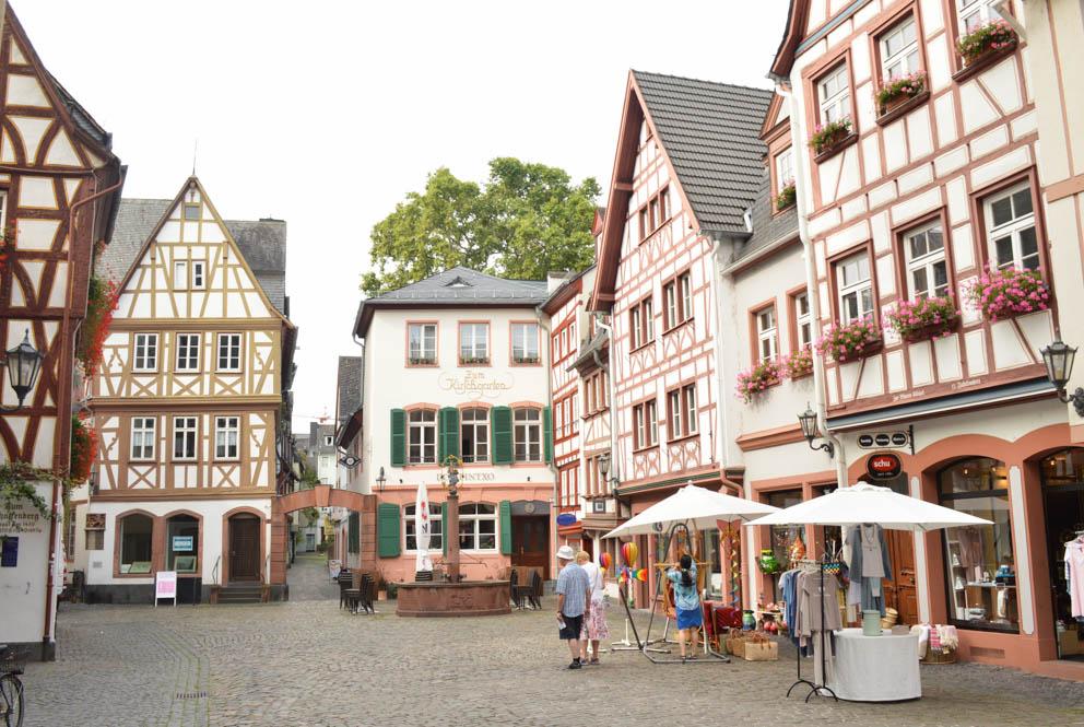 Vakwerkhuizen Mainz