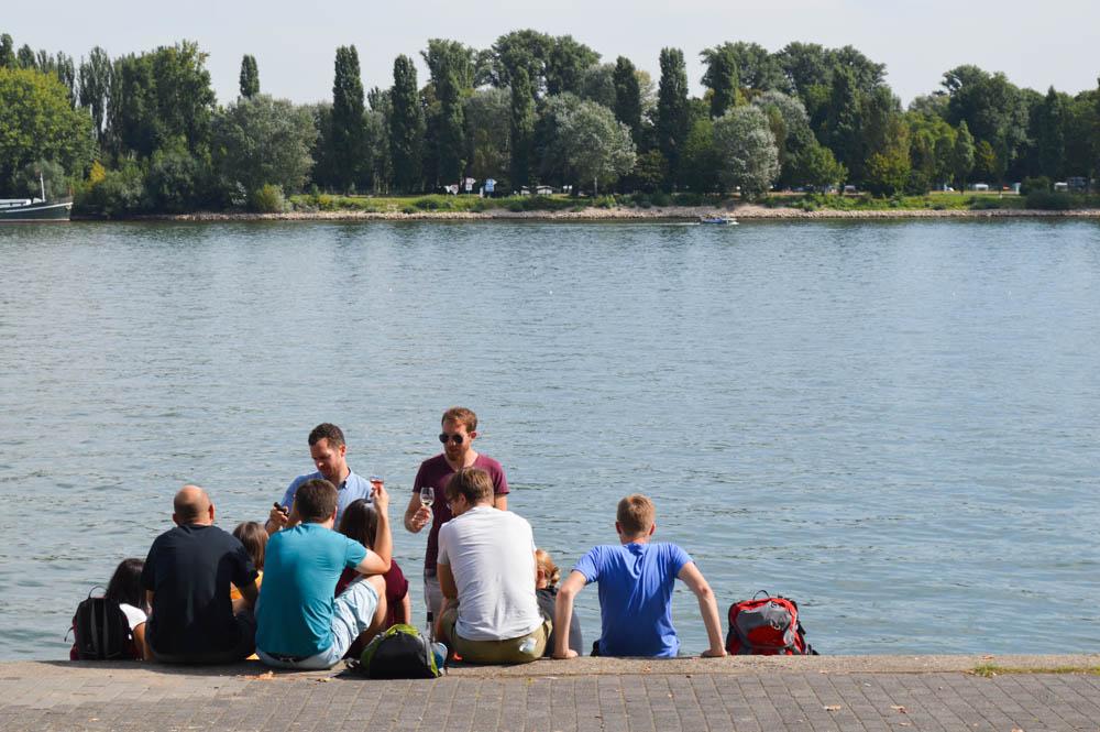 Rijn - Mainz - Duitsland