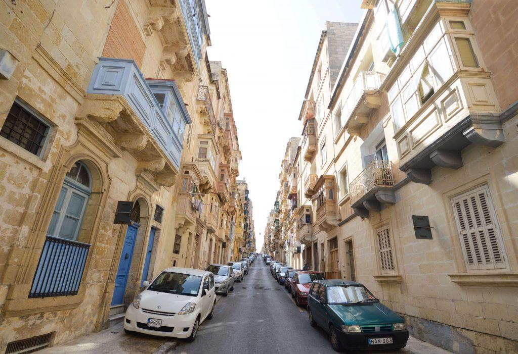 Dwalen door Valletta