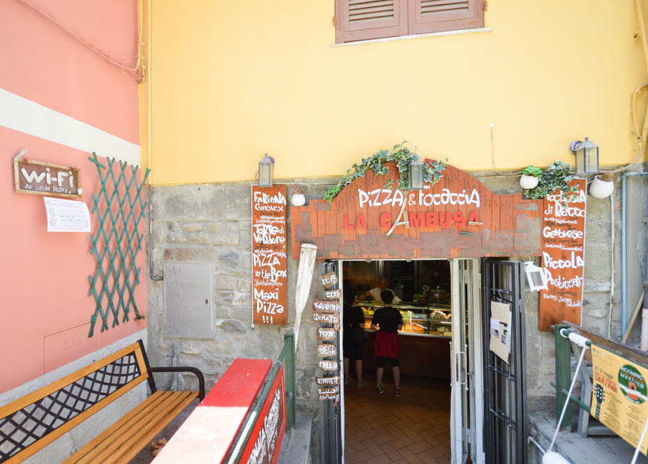 Lunchspot - Manarola