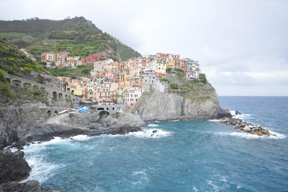 Reizen naar de Cinque Terre met de trein