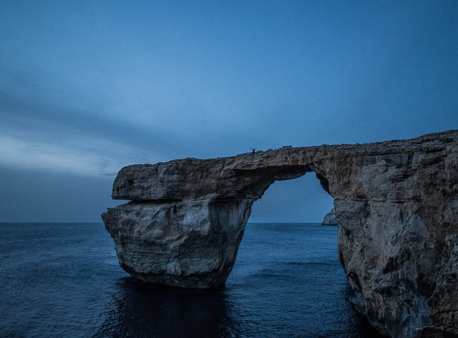 On top of the Azure Window