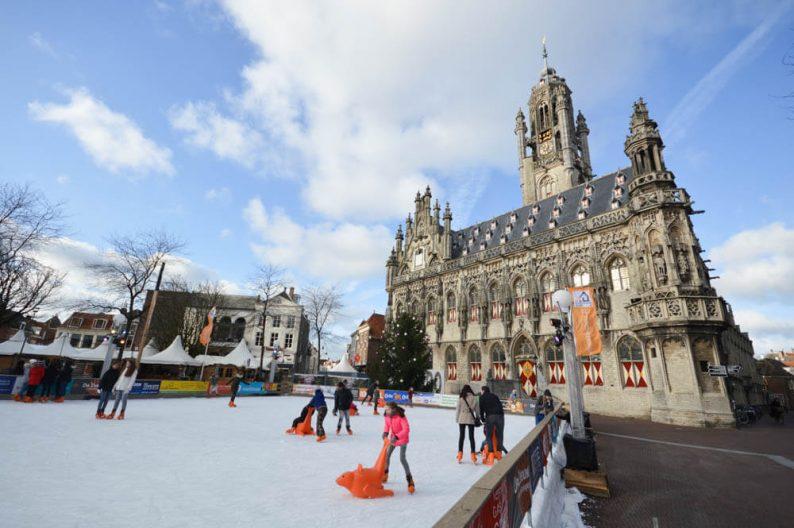 Winters weekend weg naar Middelburg