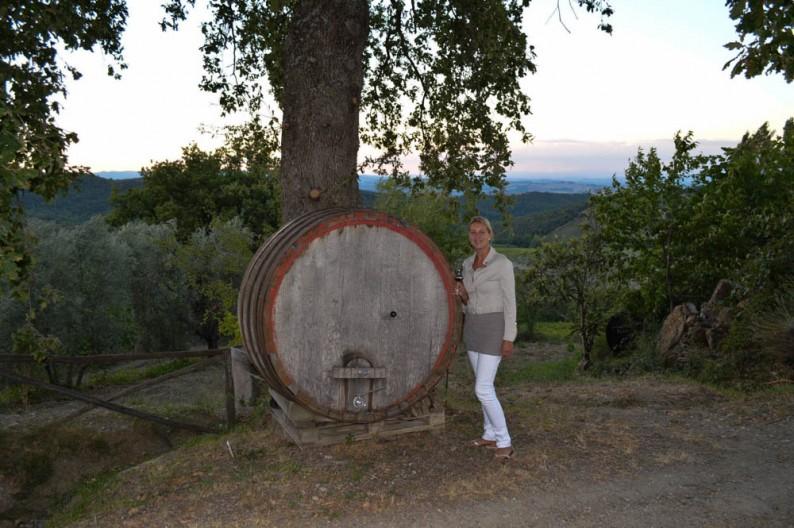 Montalcino, wijn proeven bij Aziende Agricola Cerbaia