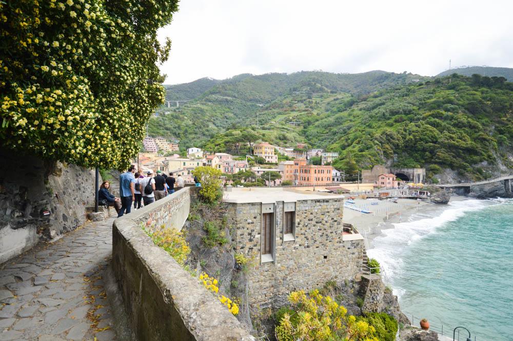Weg naar oude centrum Monterosso al Mare