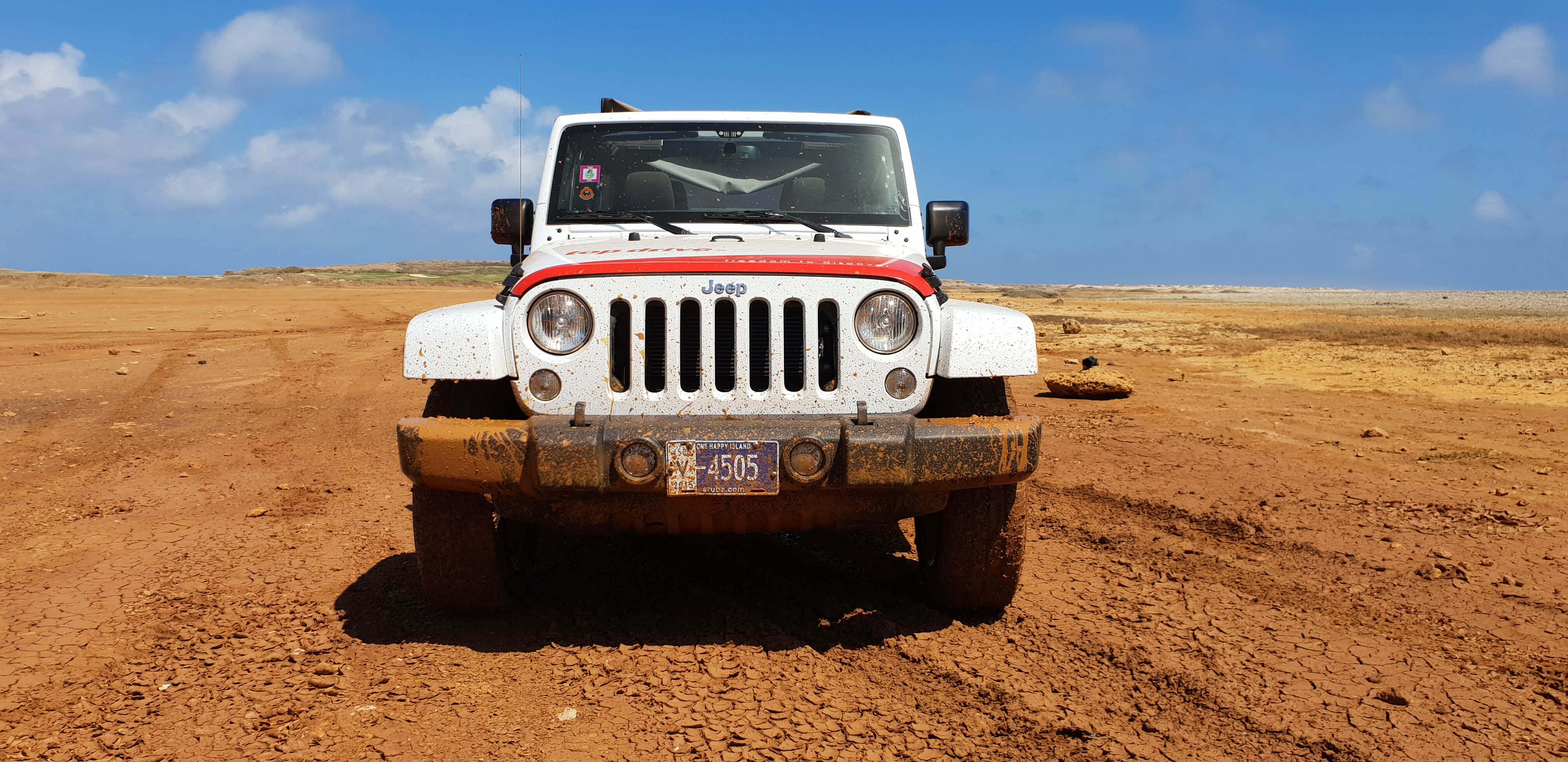 Jeep huren Aruba