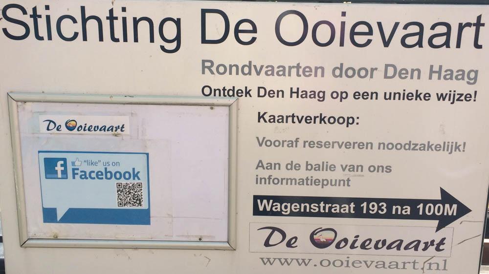 Rondvaarten door Den Haag met Ooievaart