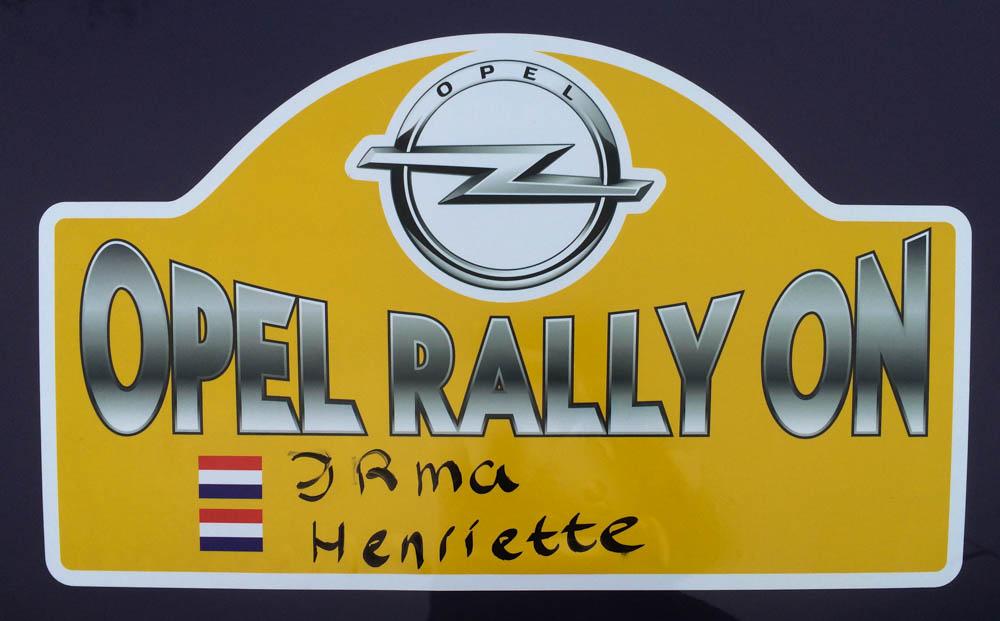 #OPELRALLYON