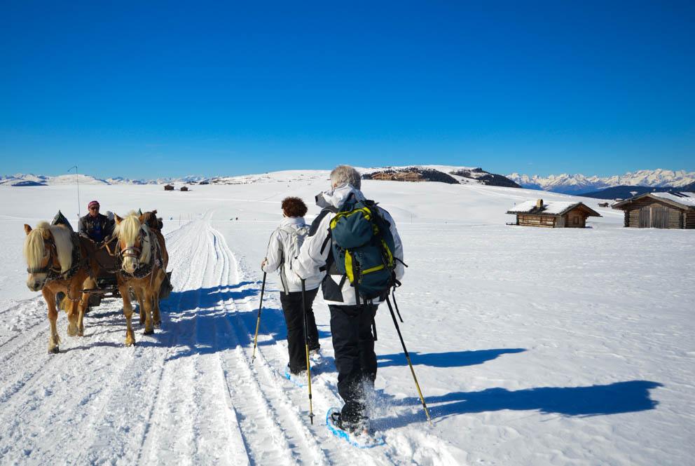 Wintersport in Zuid Tirol