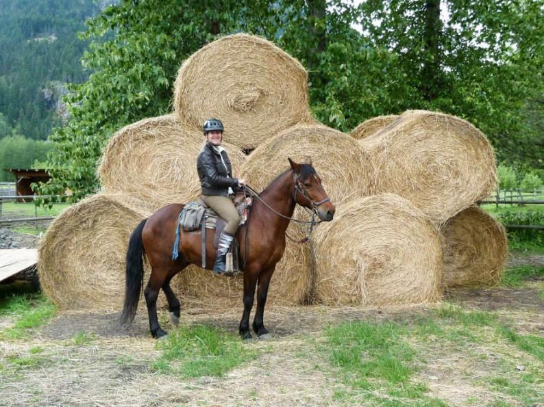 Fotoreport: Paardrijden in Canada, nabij Whistler