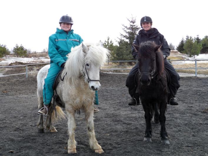 Paardrijden op IJslanders - IJsland