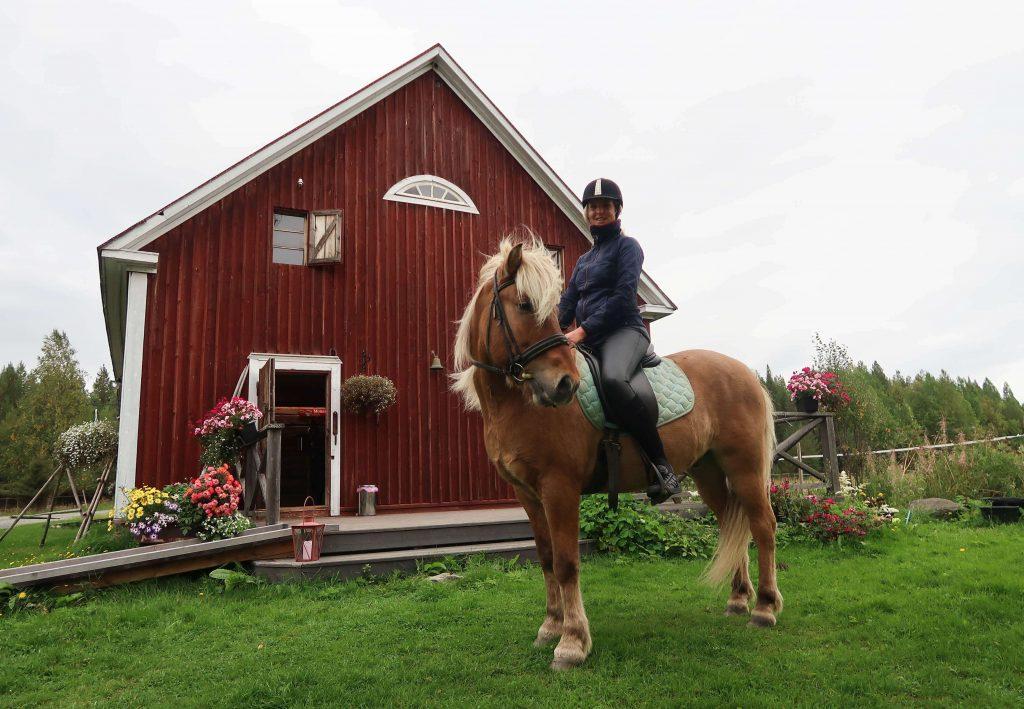 Paardrijden in Finland