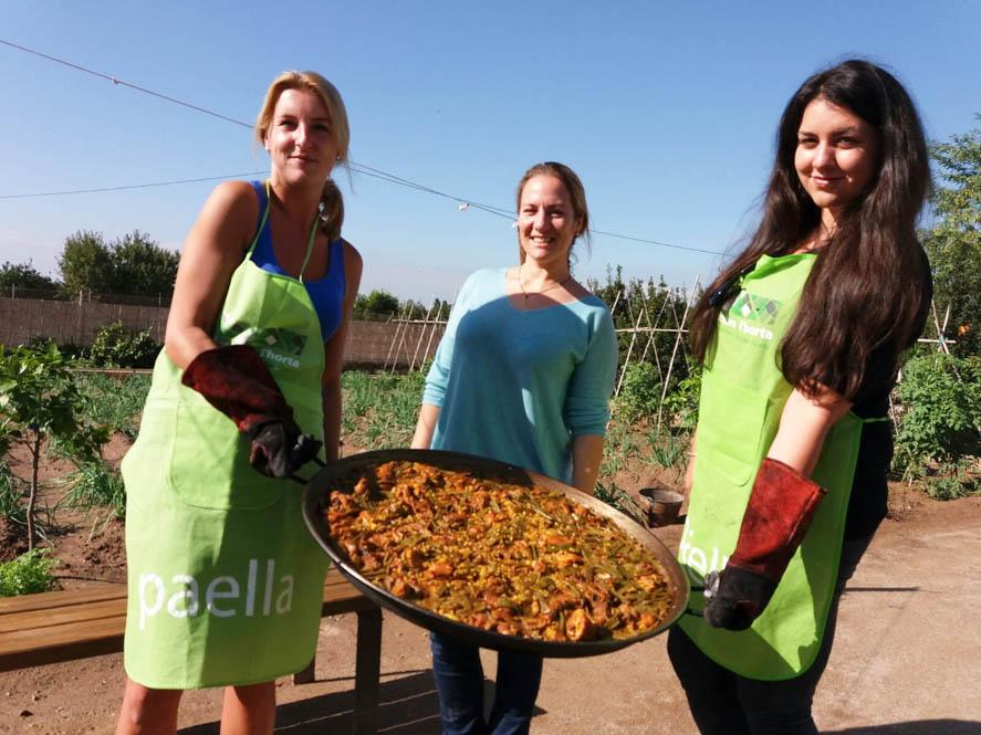 Paella maken - Huerta platteland Valencia