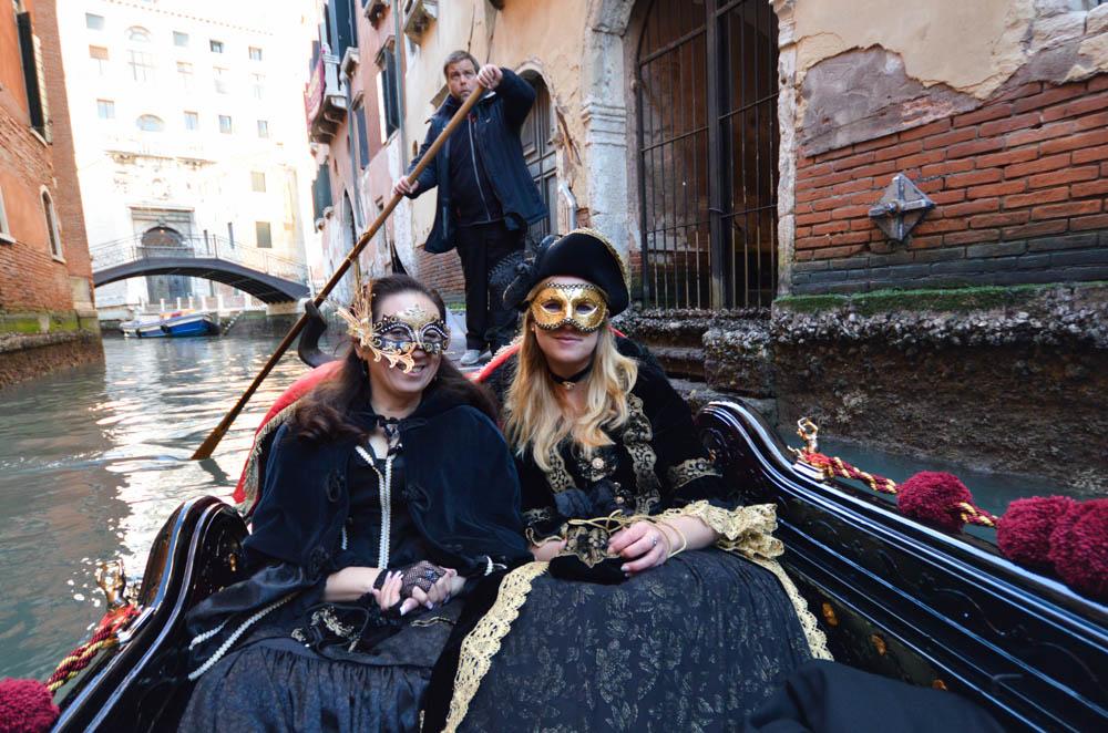 Gondeltocht door Venetië