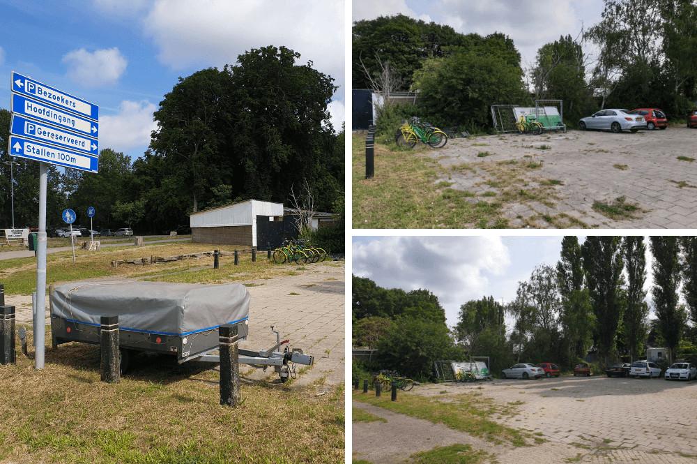 Fiets huren Den Haag en parkeren