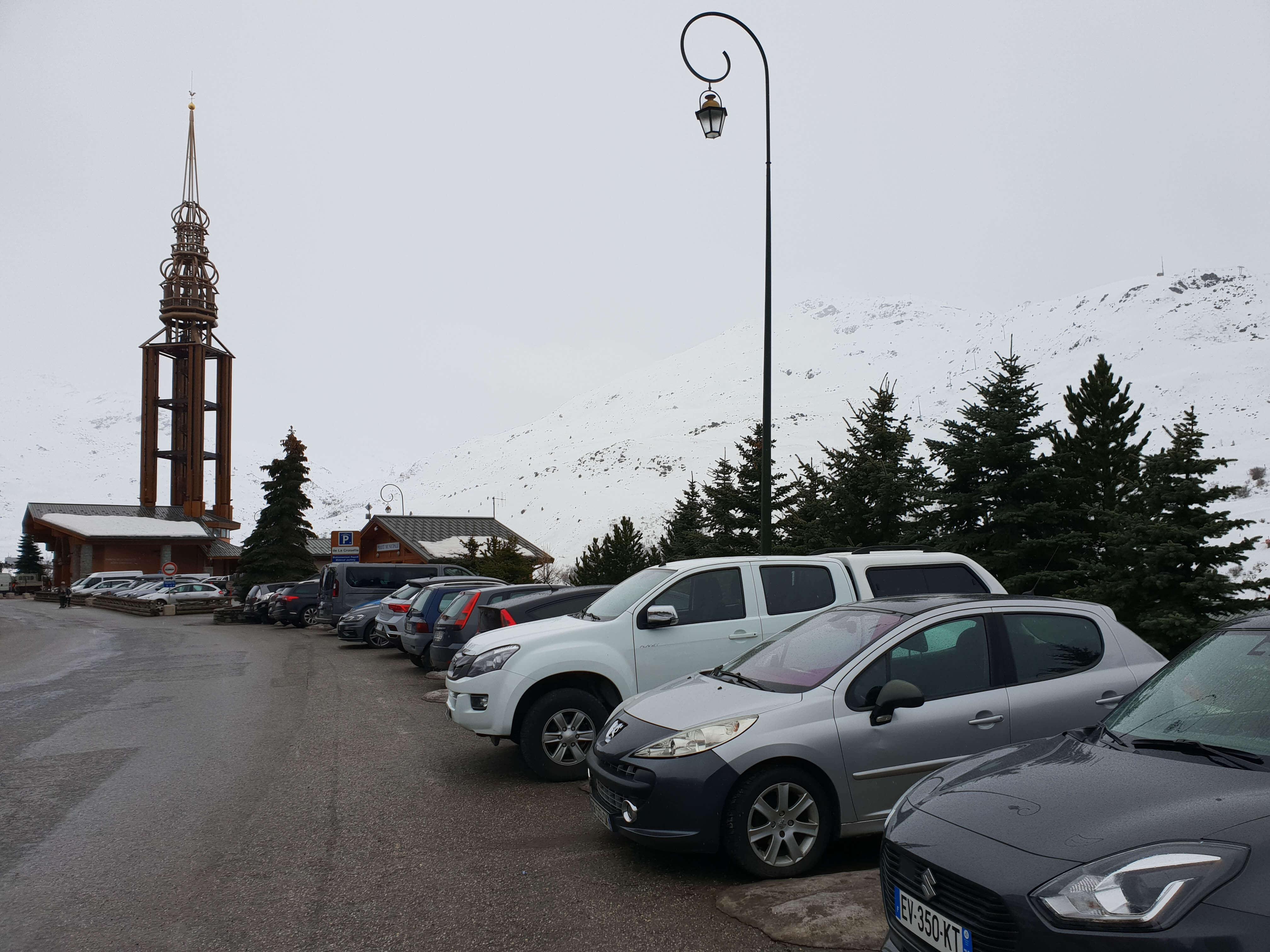 Les Menuires parkeren
