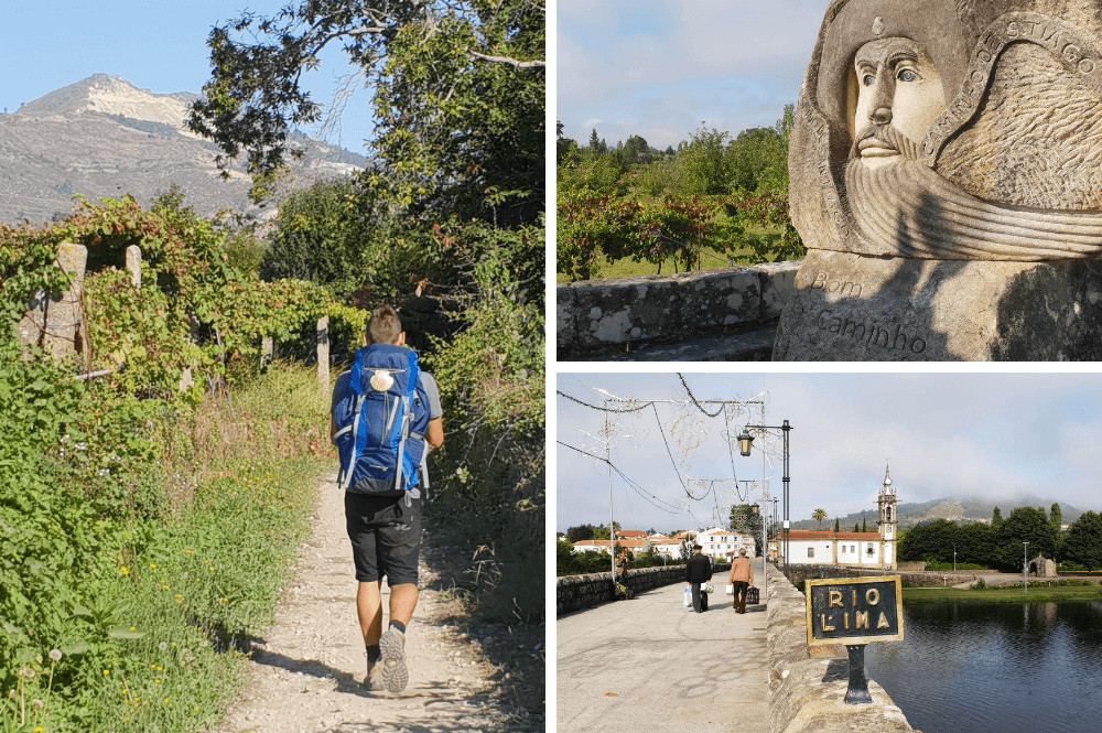 Portugese route naar Santiago de Compostela