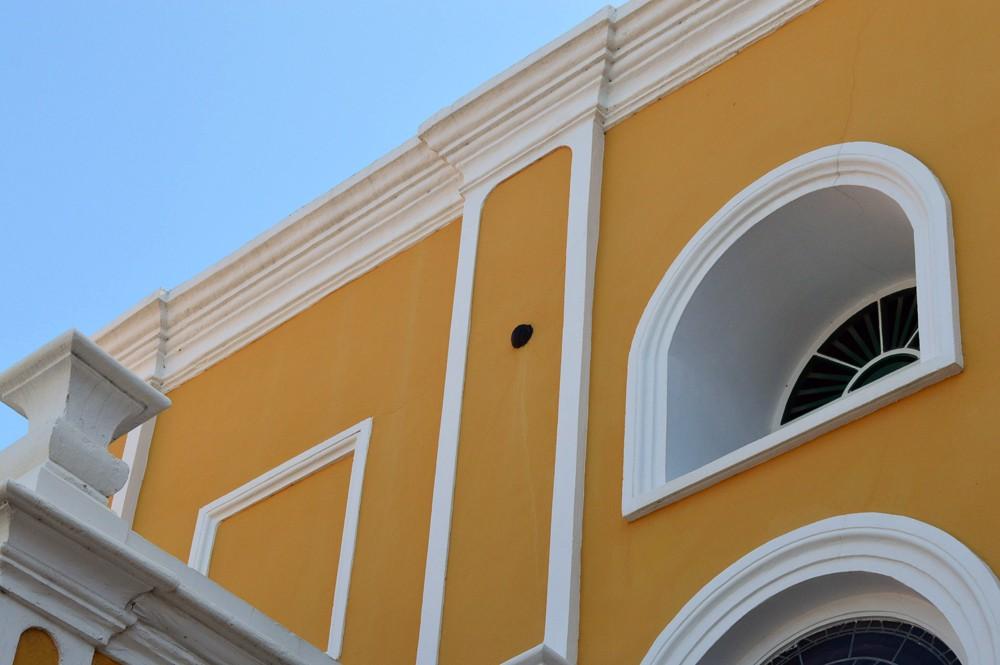Punda, kogelgat - Curacao