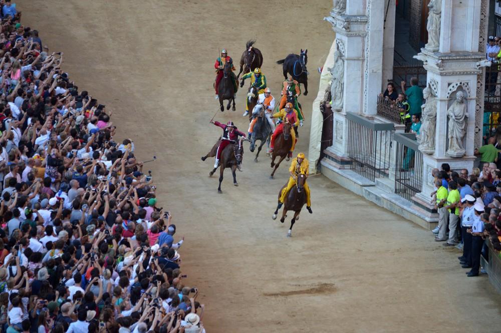 Palio paardenrace