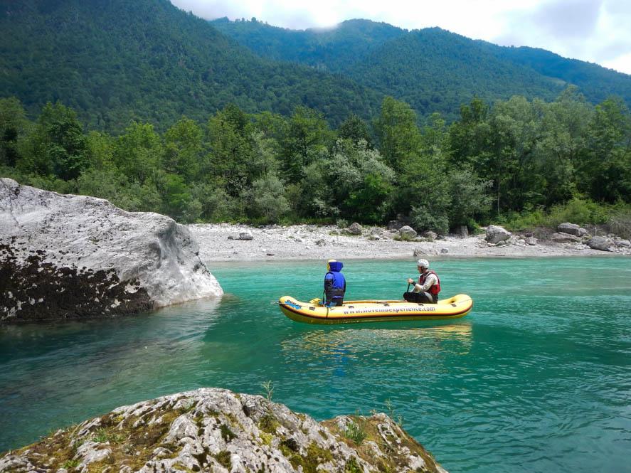 Raften - Soca Valley - Slovenië