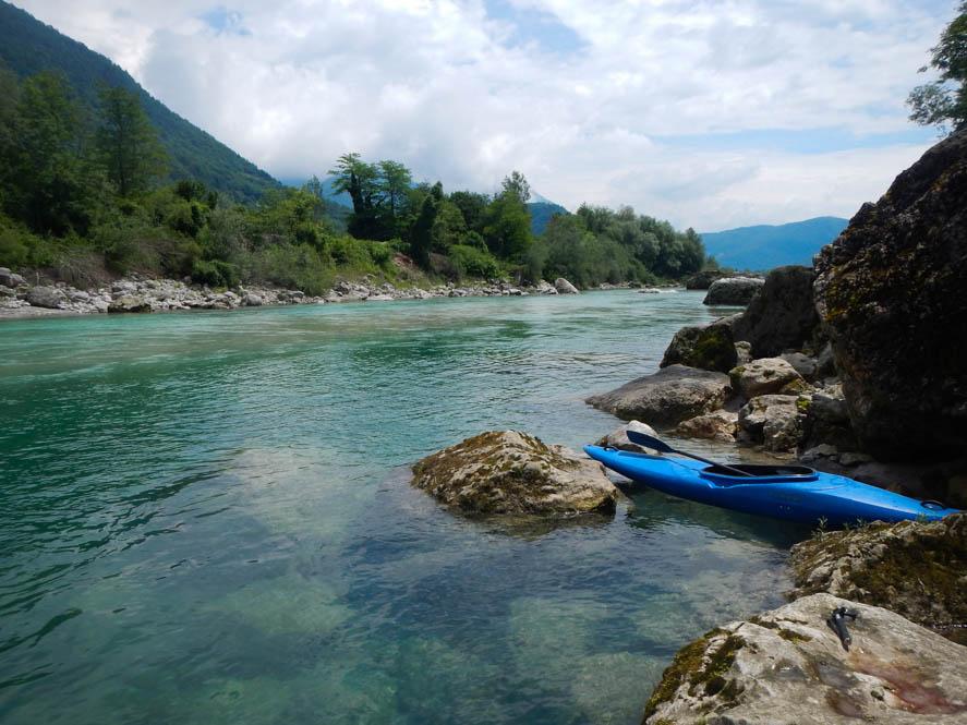 Raften - Soca rivier - Slovenië