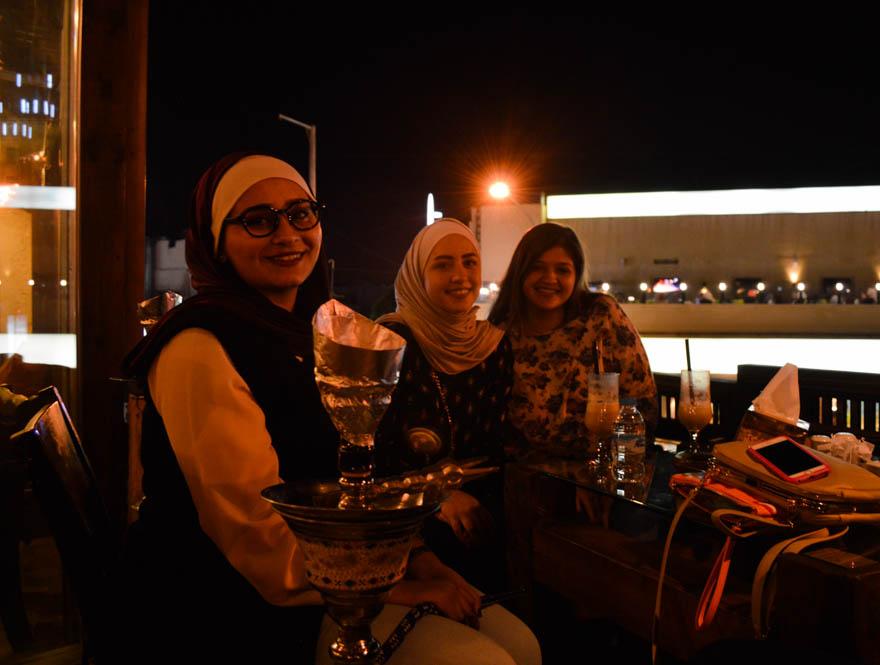 Dineren bij Rakwet Kanaan, Aqaba