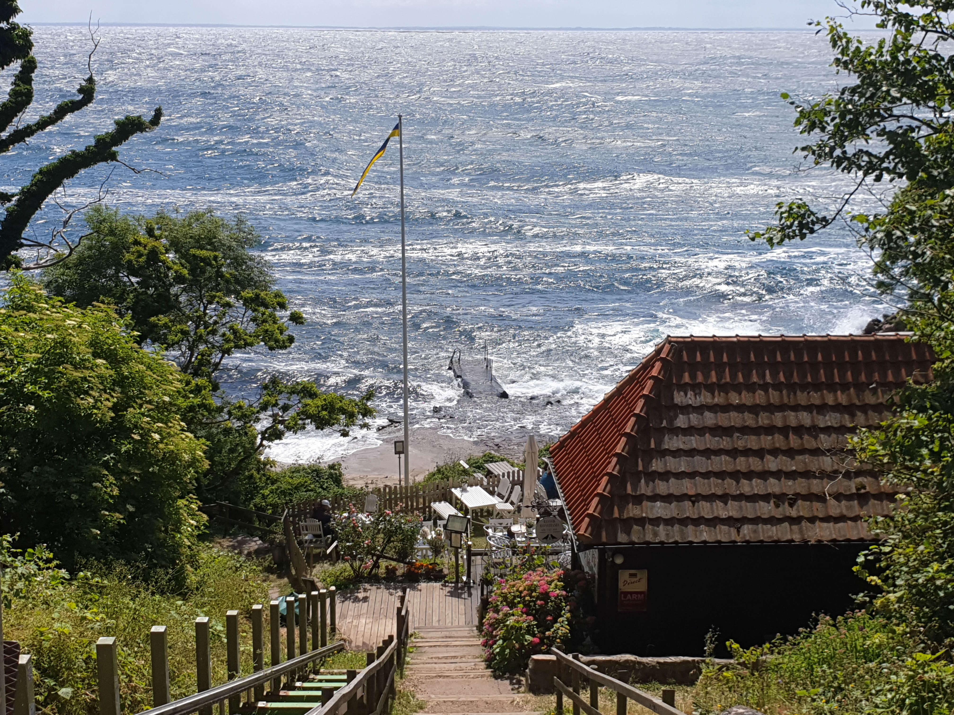 lunchen Skane - Ransviks Havsveranda