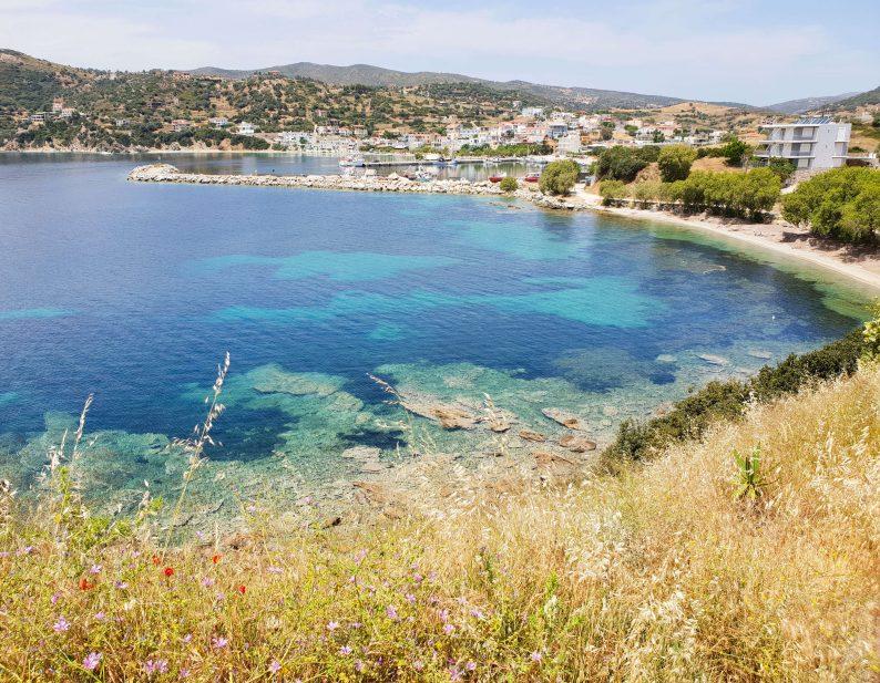 bezienswaardigheden op eiland Evia