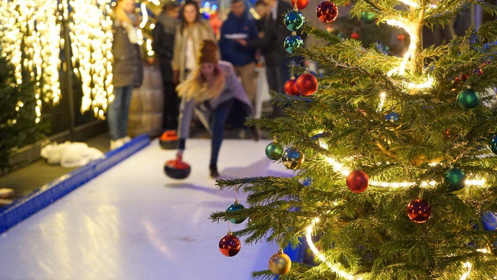 De hoogste kerstmarkt van Amsterdam