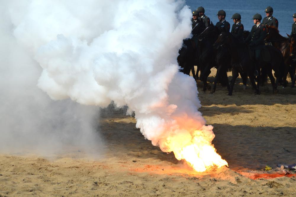 Gewenningsoefening Cavalerie Ere-Escorte