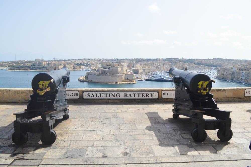 Saluting Battery - Valletta