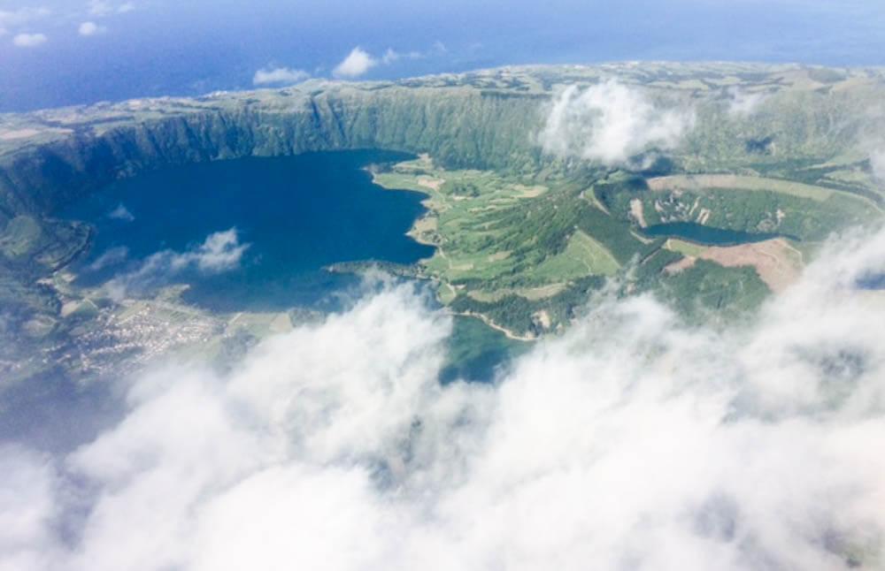 Vliegen met Sata - Azoren