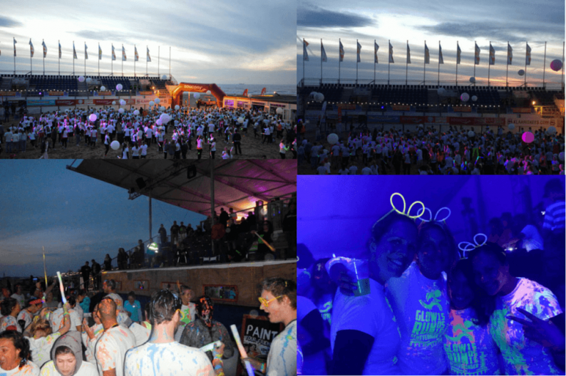 Glow-Run Scheveningen Beachstadium