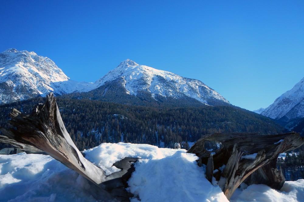 Scuol-Zwitserland-bergen
