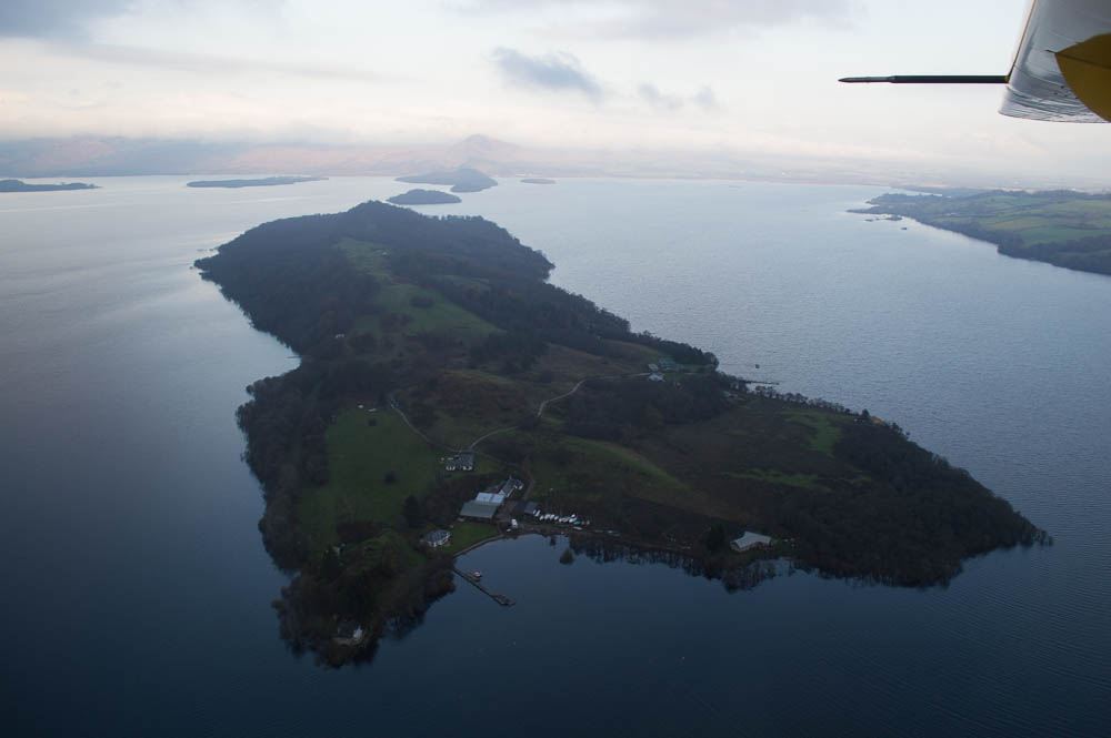 Seaplane Schotland - Loch Lomond