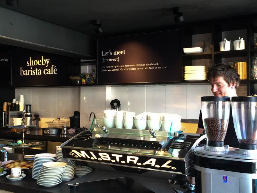 Barista café Shoeby