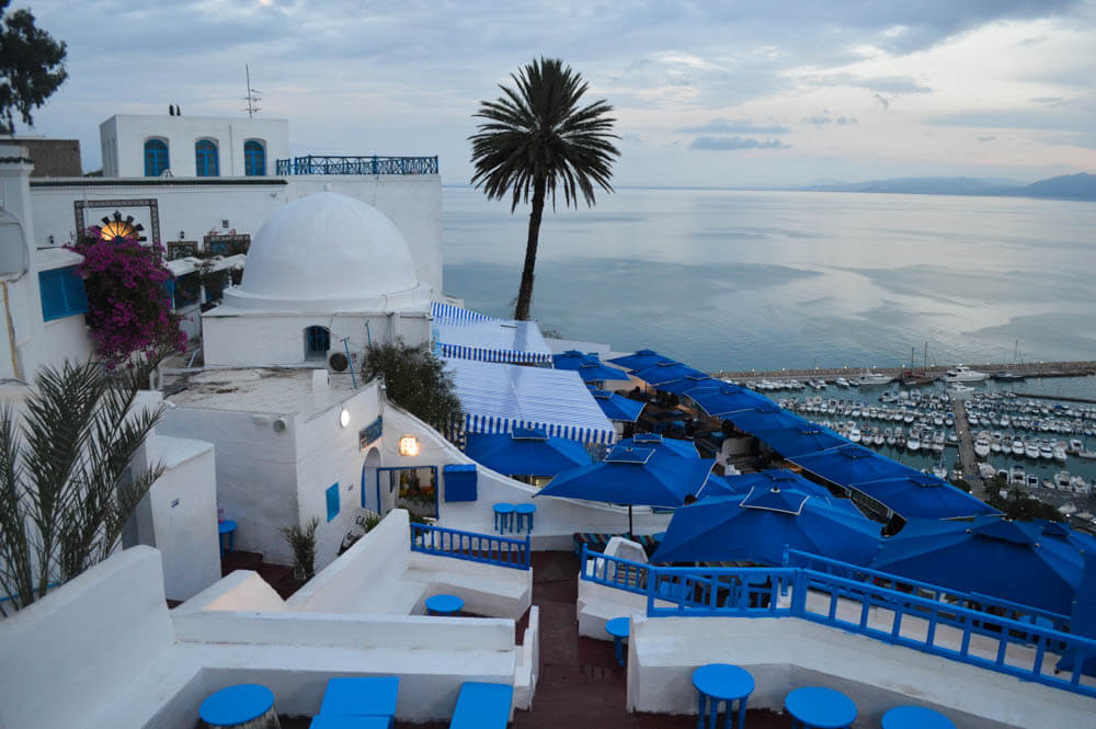 Café des Delices - Sidi bou Said - Tunesie