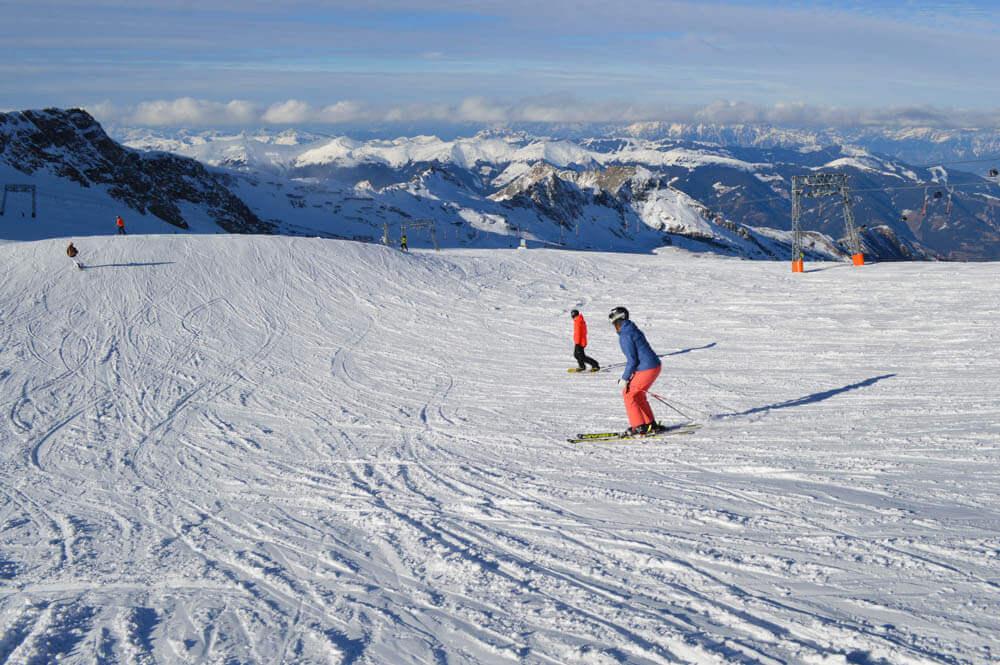 Ski app snelheid