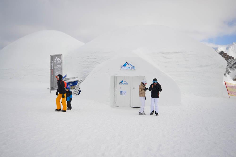 Skigebied Kitzsteinhorn - ICECAMP