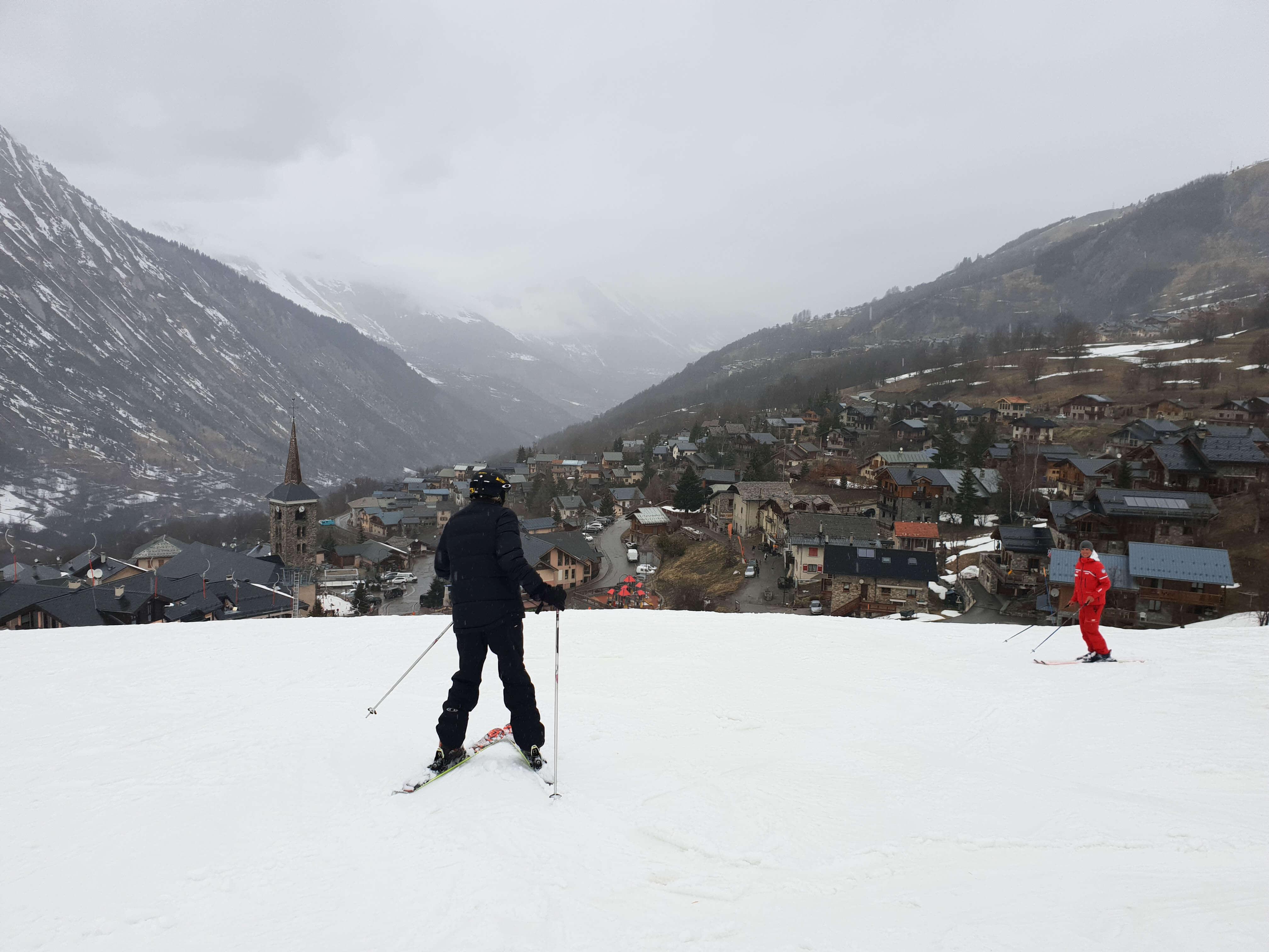 Skigebied Les Menuires + Ski Map