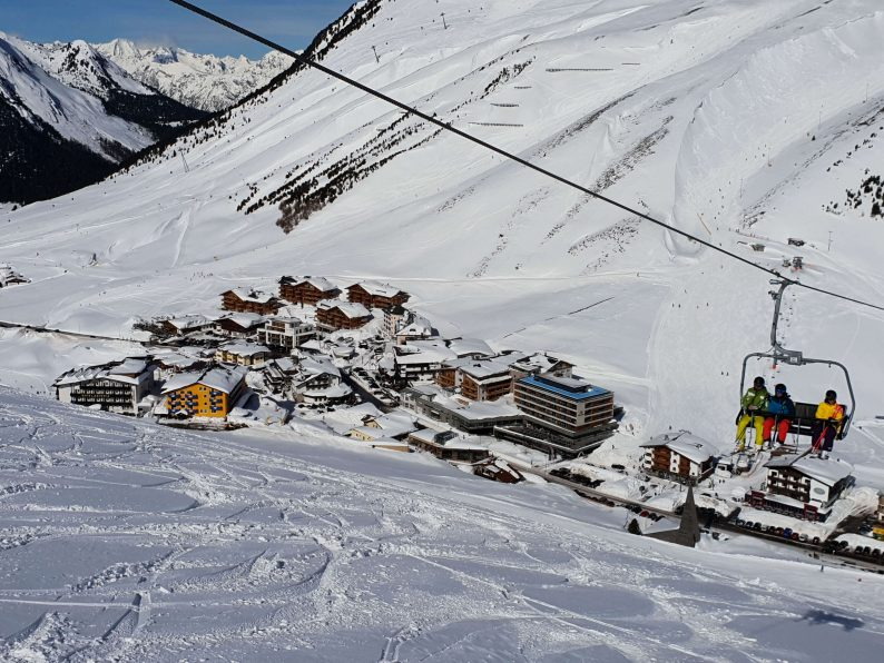 Sneeuwzeker skigebied Kühtai