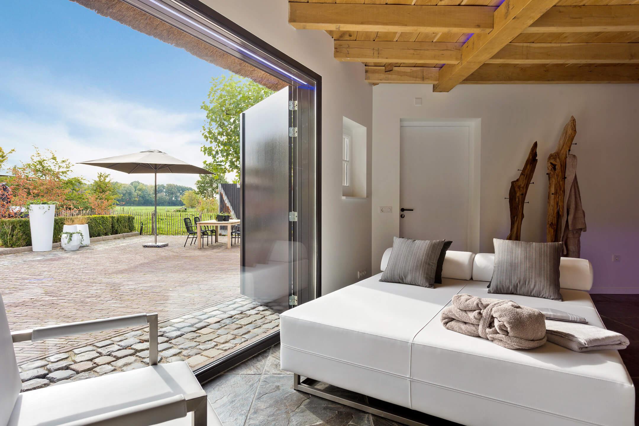 Zoek privé sauna met Jacuzzi, zwembad of overnachting