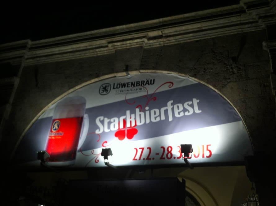 Jetzt geht los @ Starkbierfest Munchen
