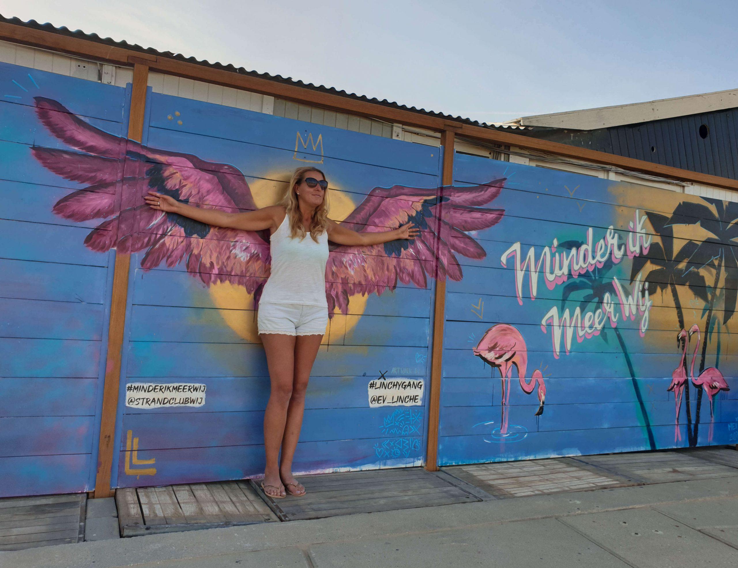 Street Art Scheveningen route